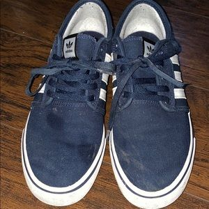 Adidas Navy blue shoes